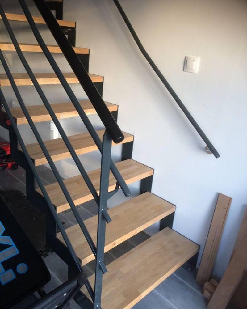 Réalisation d'escalier sur mesure Niort