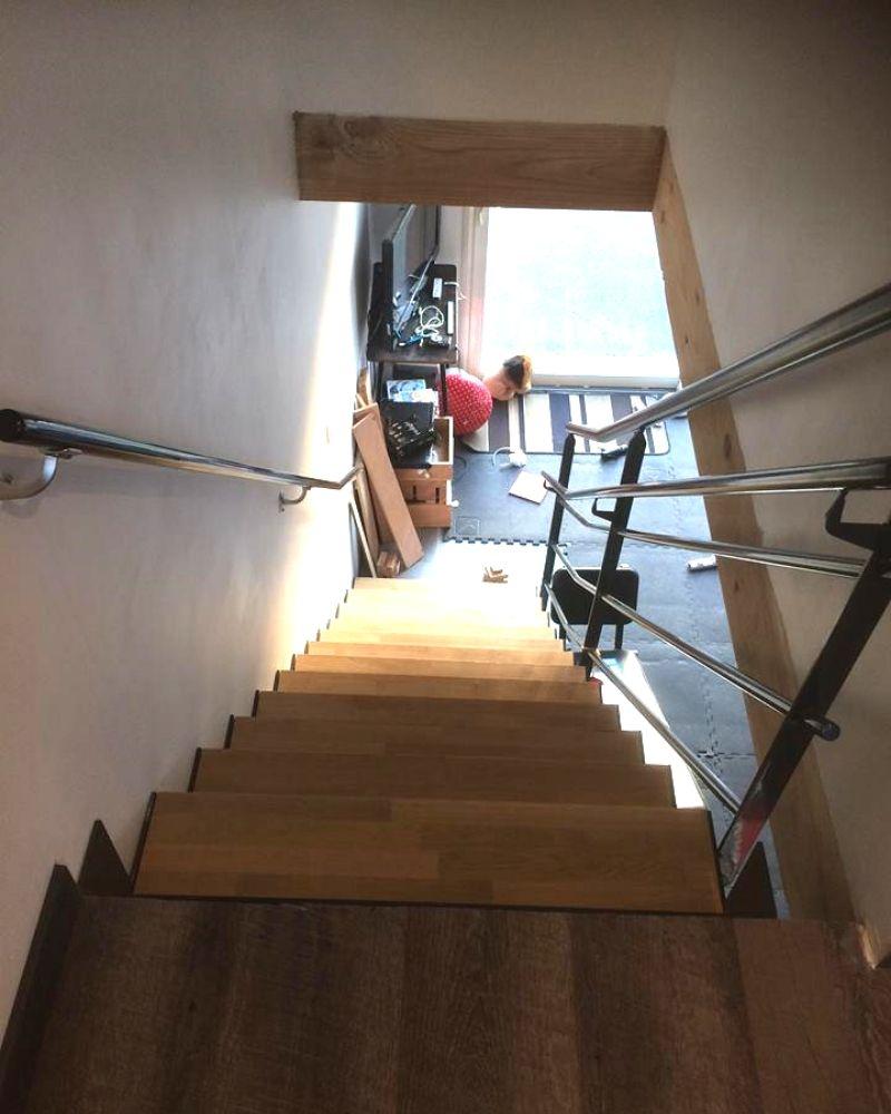 Réalisation escalier sur mesure 79