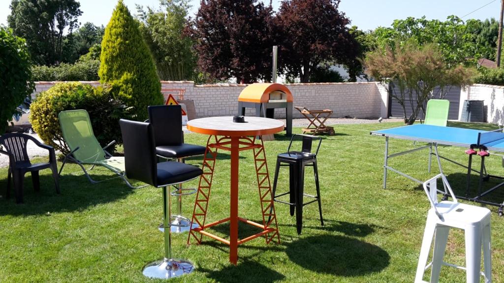 Mobilier sur-mesure à Niort Création sur mesure d'ensemble de jardin à Niort