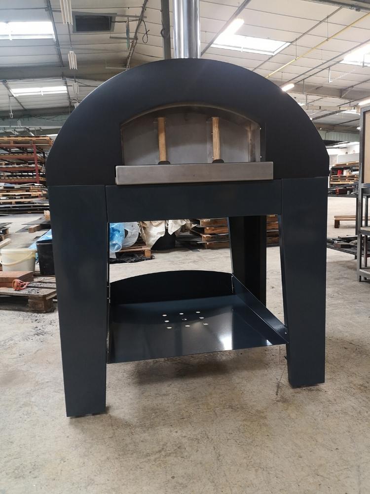 four à bois acier design noir Niort